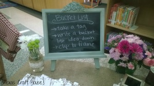 {Texas Craft House} Bucket List Craft and Retirement Party Ideas