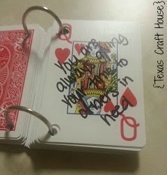 52 Reasons Why I Love You Playing Cards | Texas Craft House