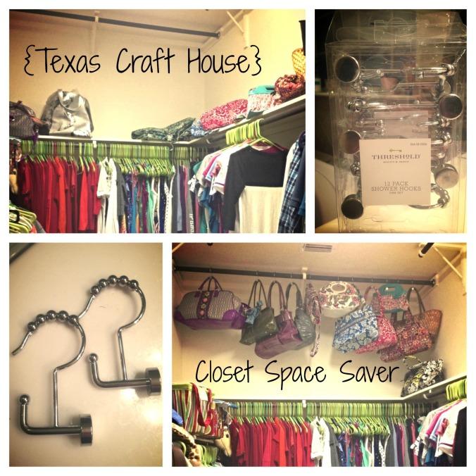 {Texas Craft House} Closet Space Saver