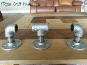 {Texas Craft House} DIY Conduit Curtain Rod