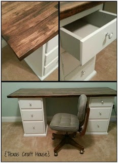 {Texas Craft House} Desk from Nightstands