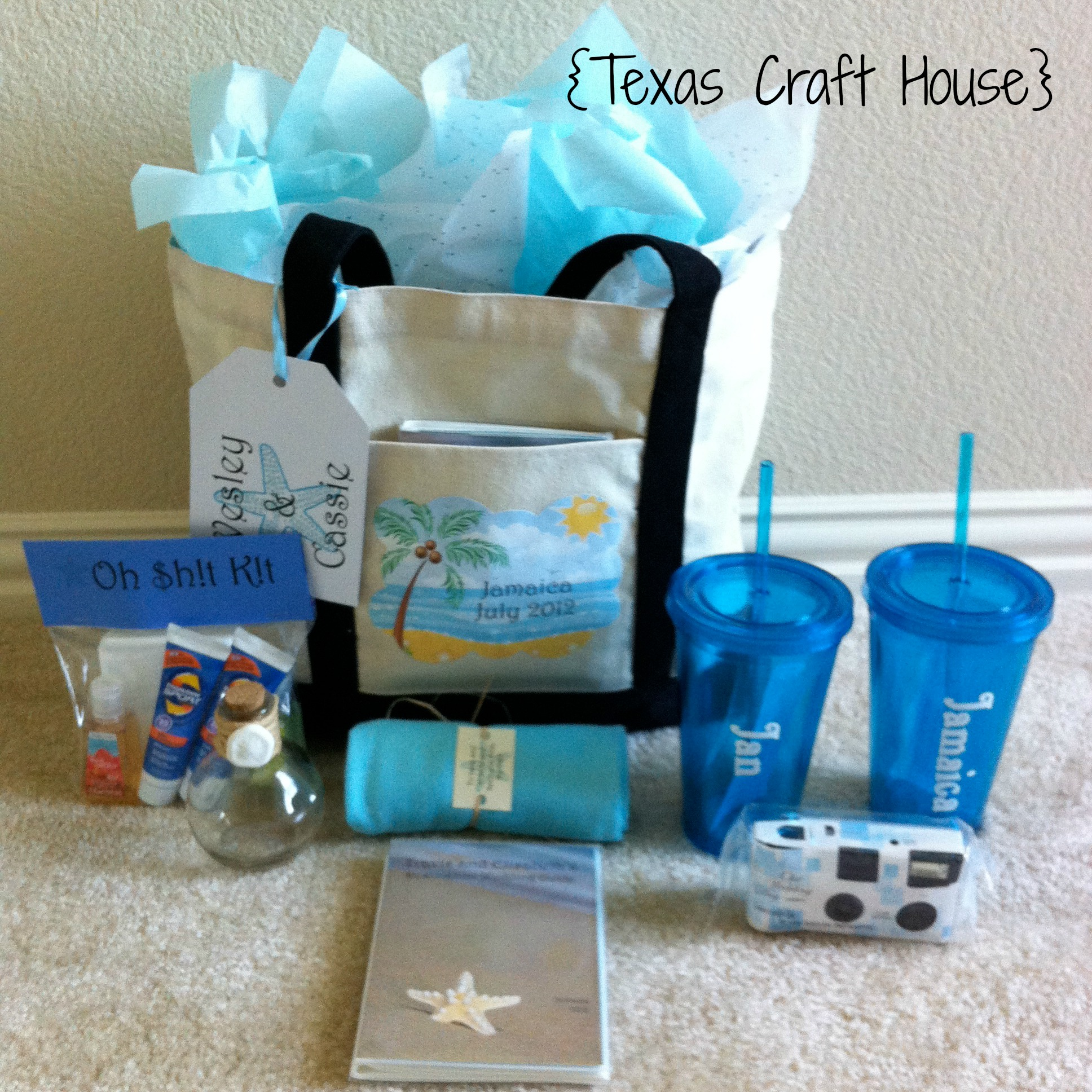 Craft Wedding Gifts: Destination Wedding Welcome Bags – DIY