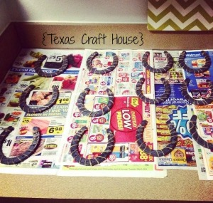 {Texas Craft House} Good Luck Horseshoe