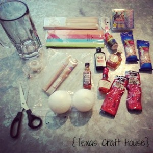 {Texas Craft House} Man Bouquet Tutorial