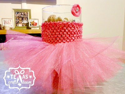 {Texas Craft House} No sew tutu tutorial for baby shower gift or little girl