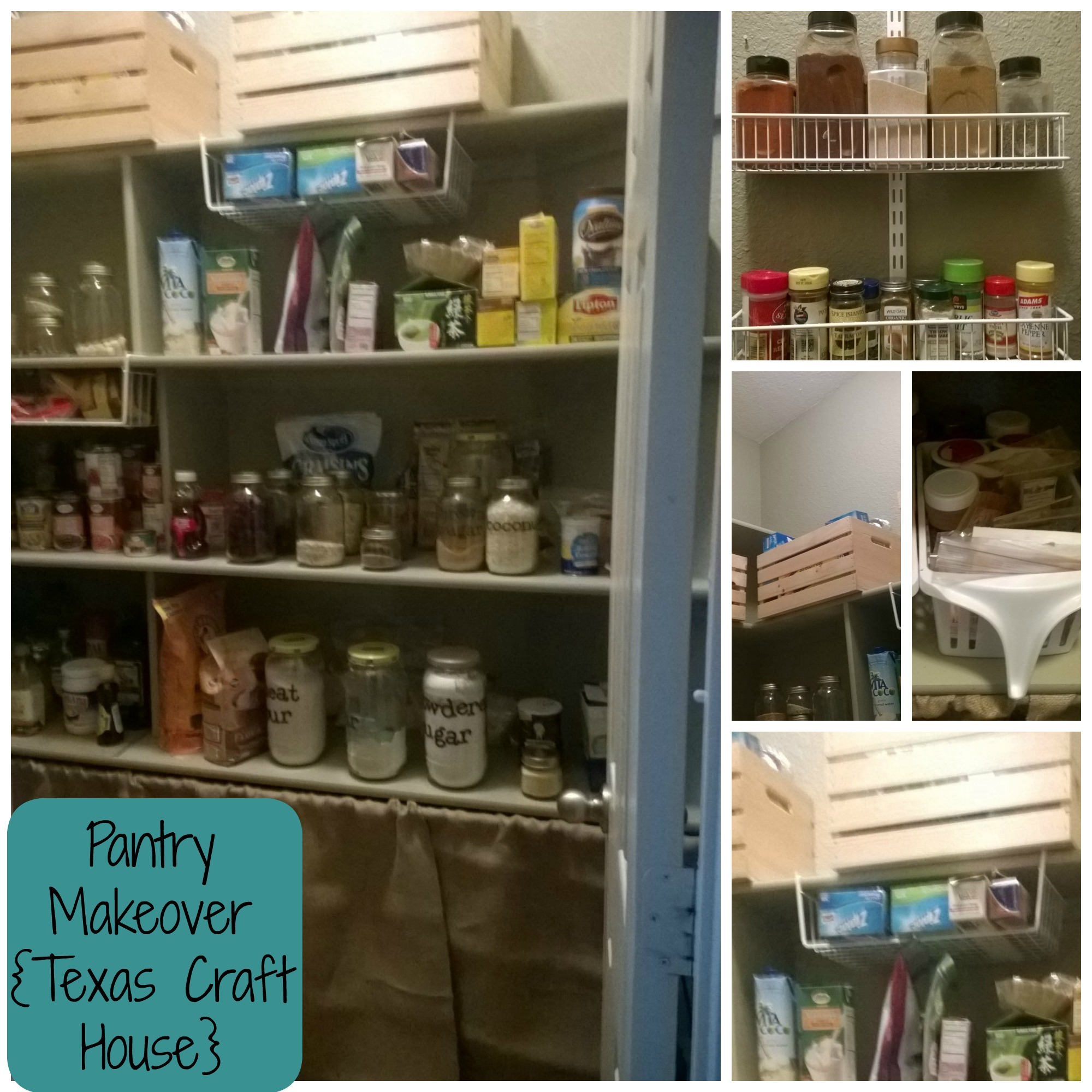 Messy Kitchen Pantry: Messy Pantry Makeover