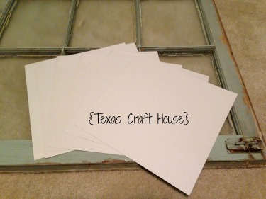 {Texas Craft House} Window Repurposing