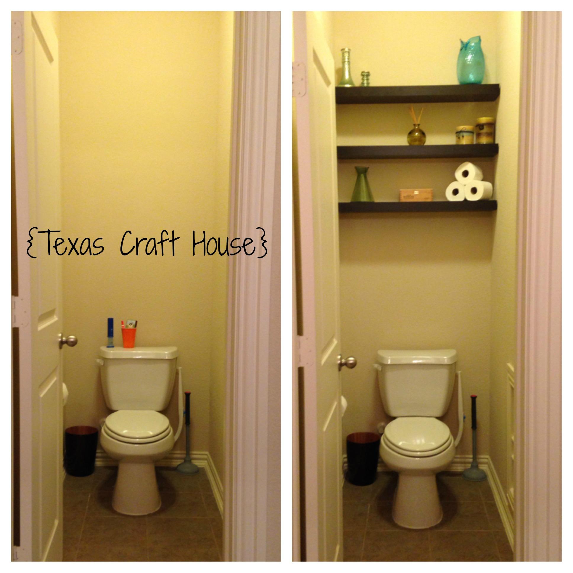 Master Bath Toilet Room Makeover Texas Craft House