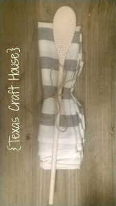 {Texas Craft House} Custom Solder Patterns on Wooden Spoons DIY