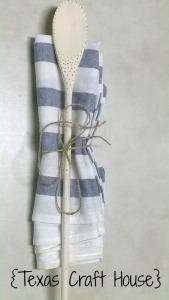 {Texas Craft House} Custom Solder Patterns on Wooden Spoons DIY