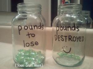 {Texas Craft House} Weight Loss Visual Motivation