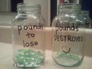 {Texas Craft House} Weight Loss Visual Motivation