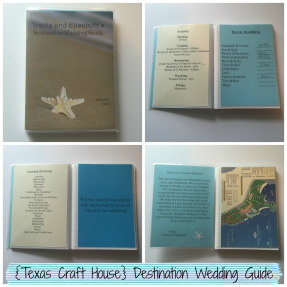 {Texas Craft House} DIY Destination Wedding Guide for Your Guests