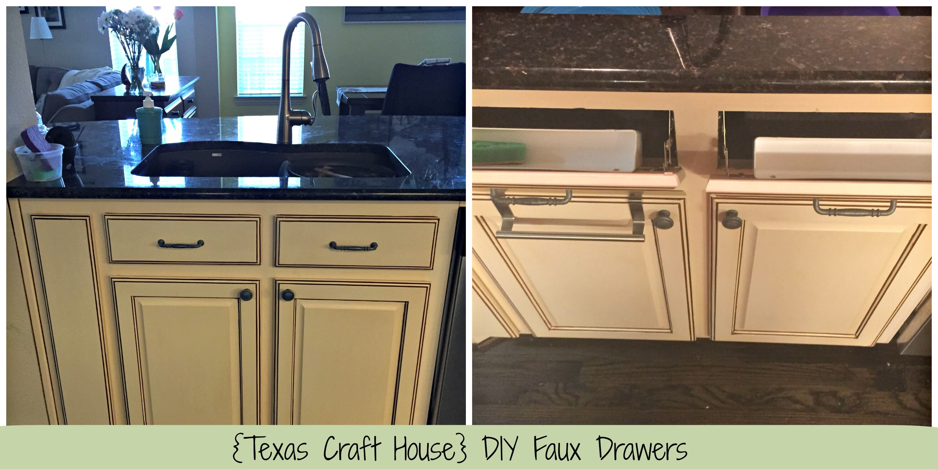 Installing Your Own Faux Drawers Texas Craft House