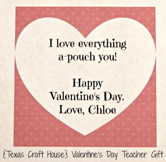 {Texas Craft House} Such a great teacher gift and one that they actually need and will use. Laminating pouches. I love the adorable saying too!