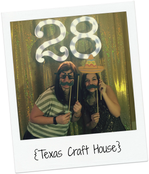 {Texas Craft House} Make Your Own Marquee Numbers