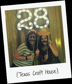 {Texas Craft House} Golden Birthday