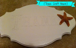 {Texas Craft House} Wedding Photo Shoot Thank You Signs