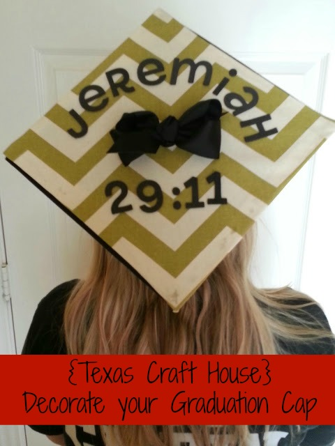 Decorate your graduation cap texas craft house for Decorated bible