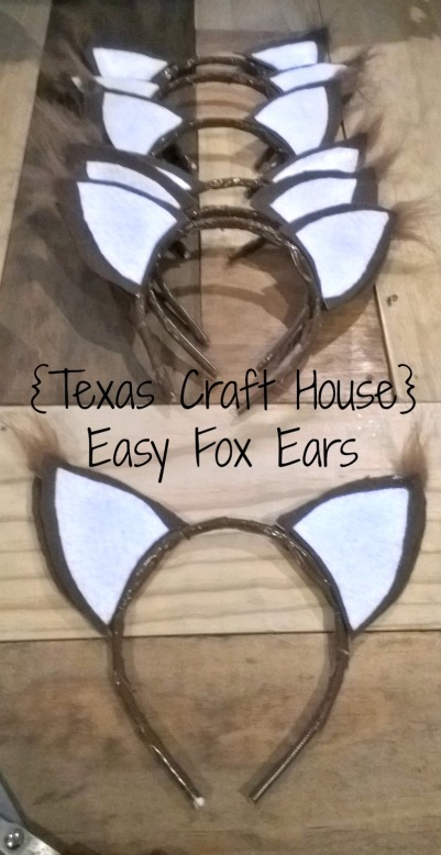 Easy Fox Ears Make It Yourself Texas Craft House