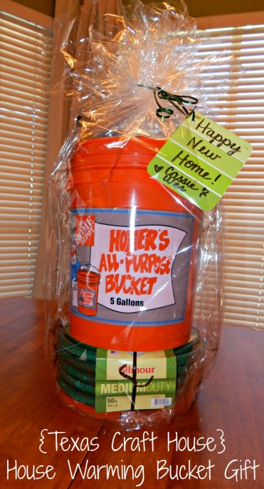 House Warming Bucket Gift Texas Craft House