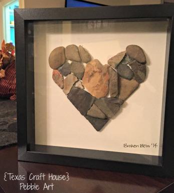 {Texas Craft House} Pebble or Rock Art