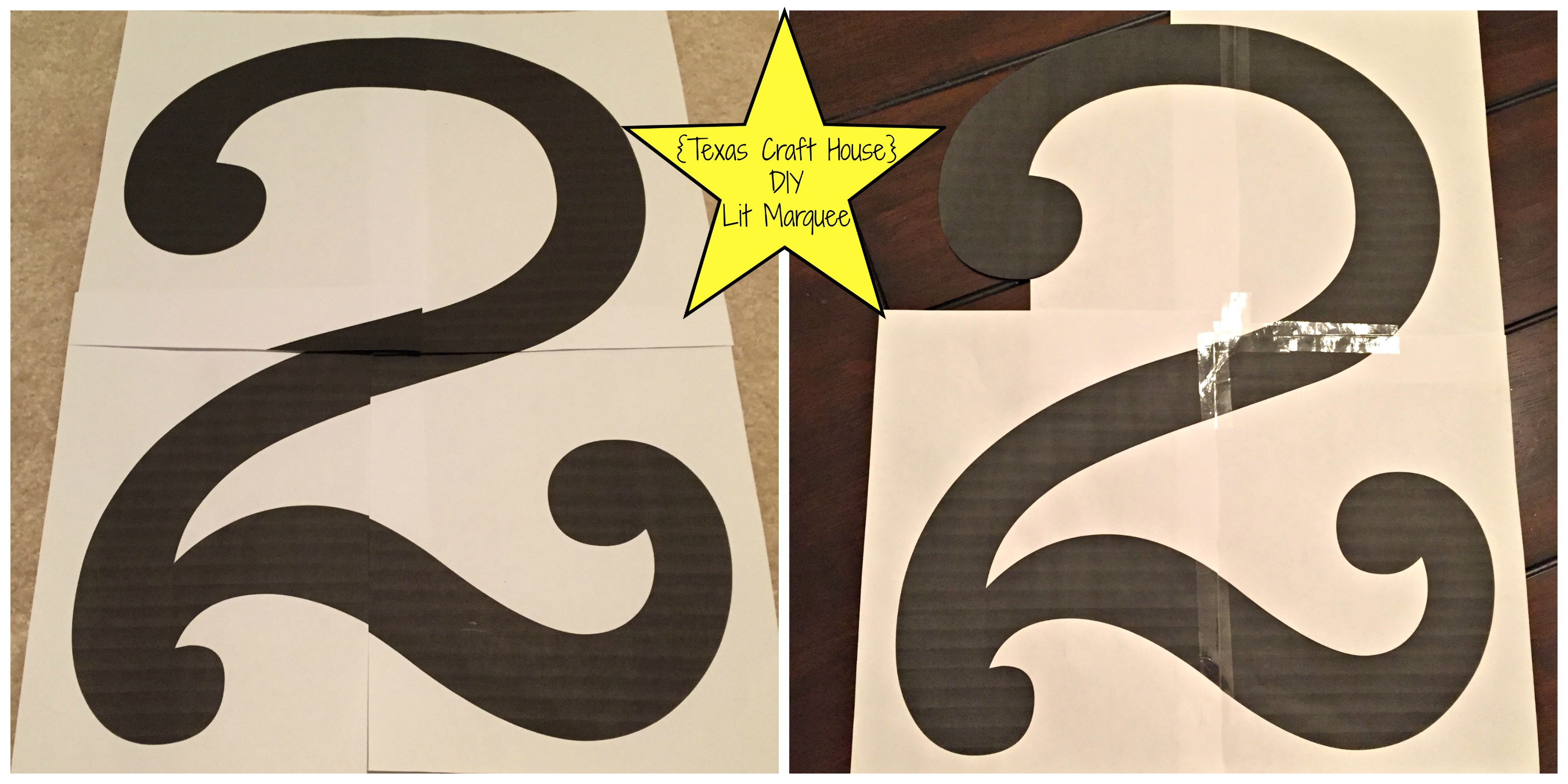 100 Design Your Own House Number Painted Letters