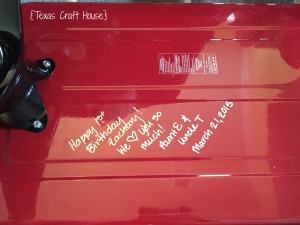 {Texas Craft House} Radio Flyer with Custom Decals