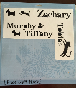 {Texas Craft House} Personalized Pet Food Container