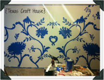 {Texas Craft House} Room Transformation using a Projector