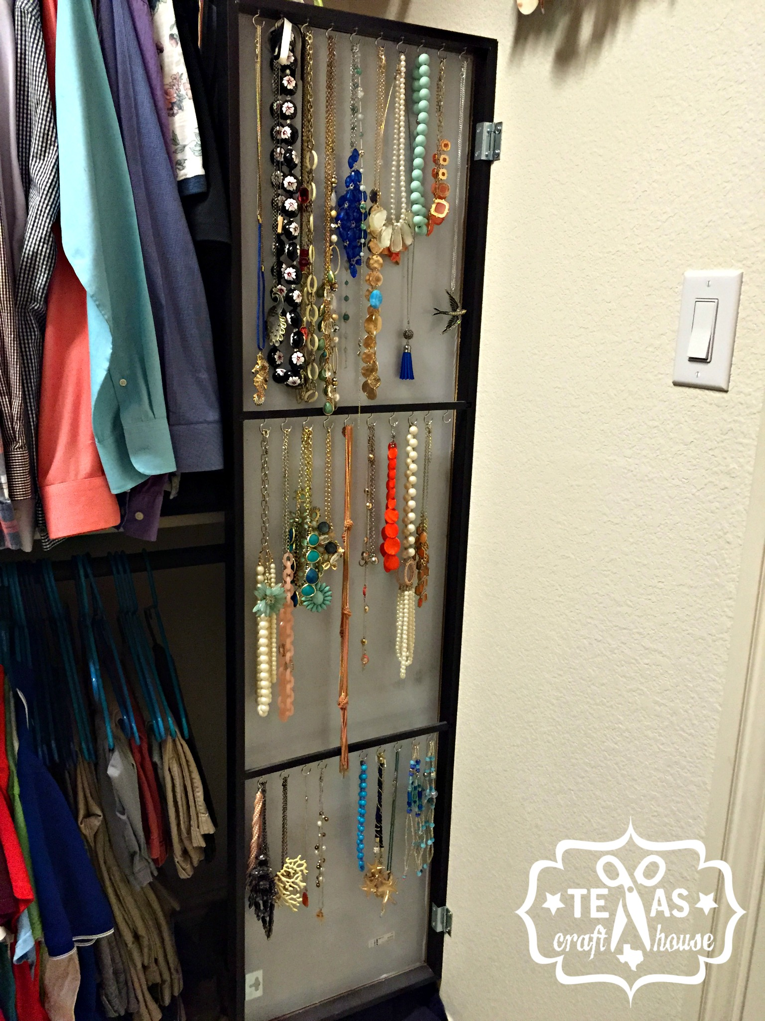 {Texas Craft House} IKEA Hack: Hidden Jewelry Storage