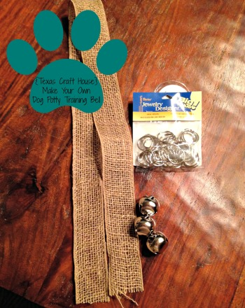{Texas Craft House} Make Your Own Inexpensive Dog Potty Training Bell