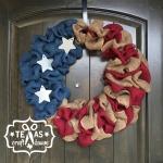 {Texas Craft House} Americana Wreath