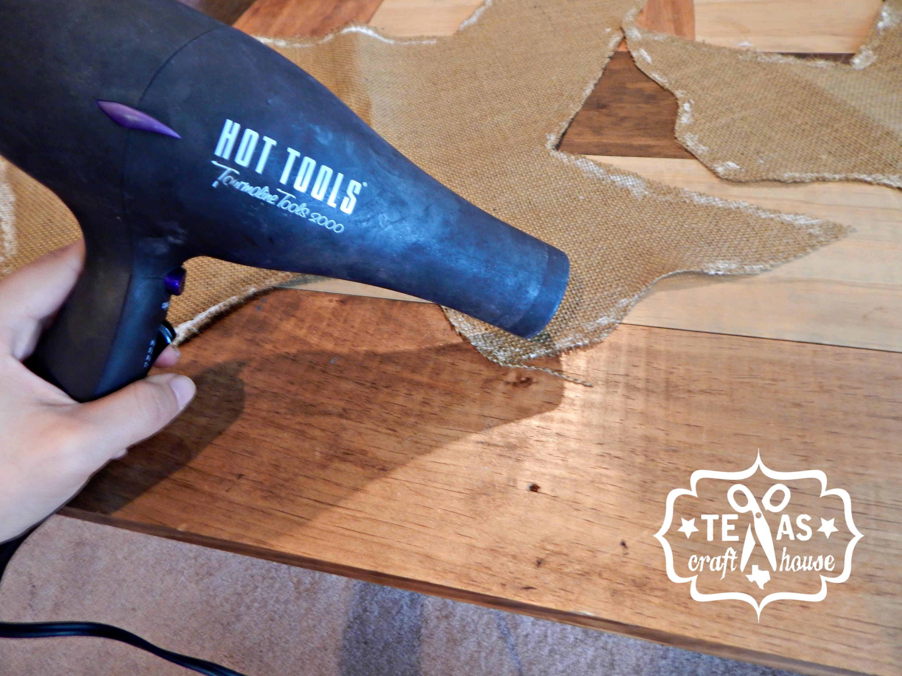 Texas Craft House Texas Burlap Door Hanger Tutorial & Texas Burlap Door Hanger | Texas Craft House