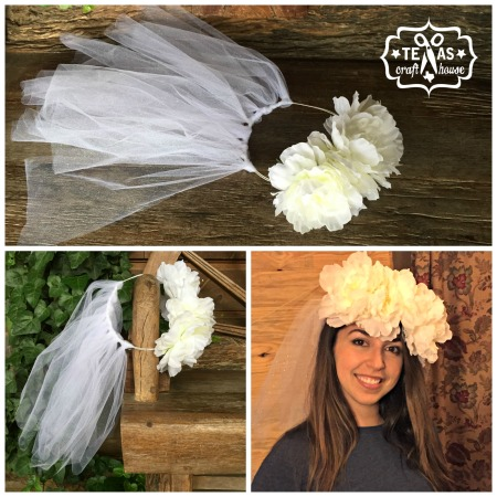 {Texas Craft House} Bachelorette Party Weekend Idea: Flower Crown for Floating the Guadalupe River and Two Step in Gruene Hall