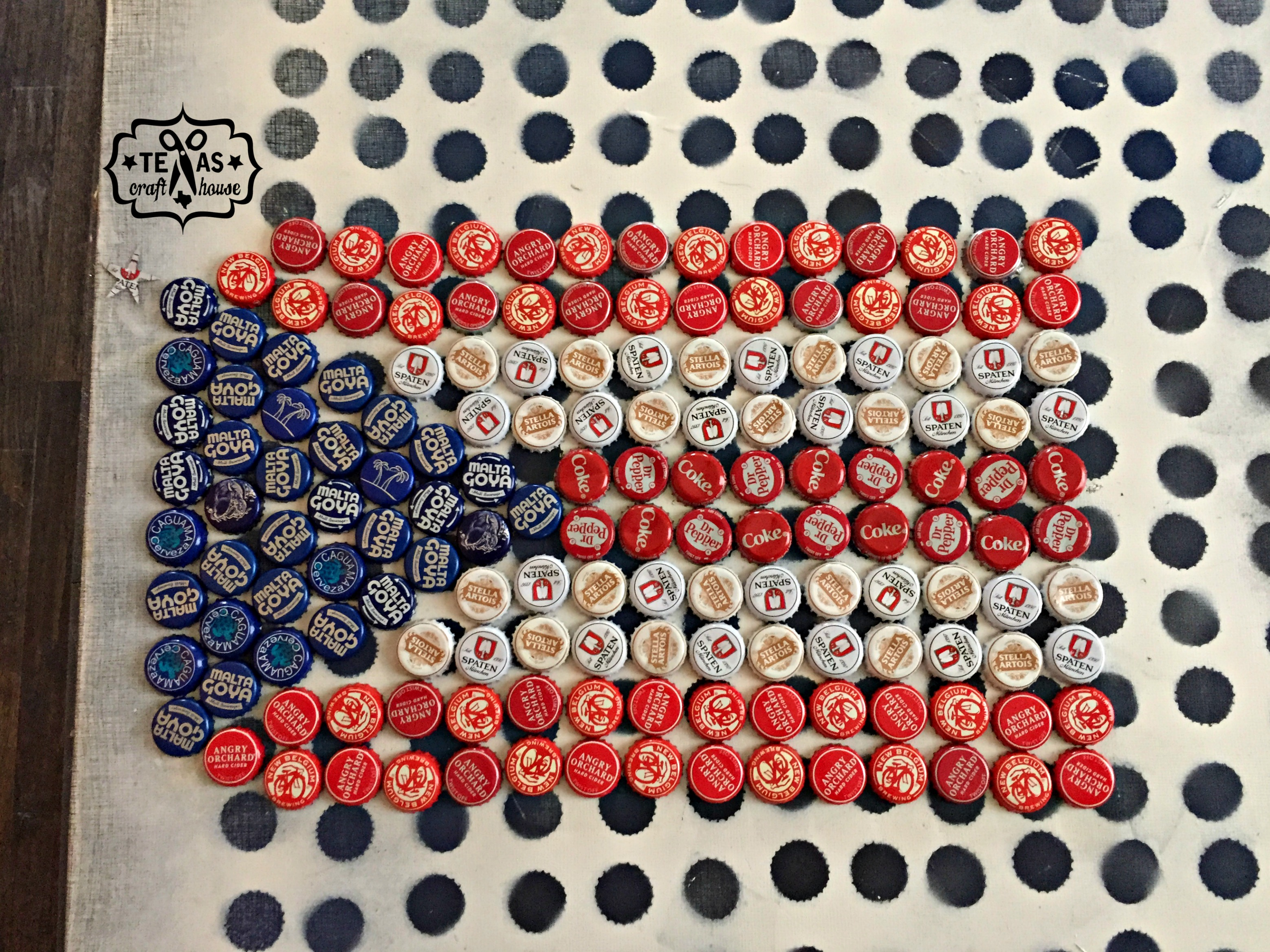 Texas Craft House  Ever wondered what to do with those beer caps you  1b6c61bec