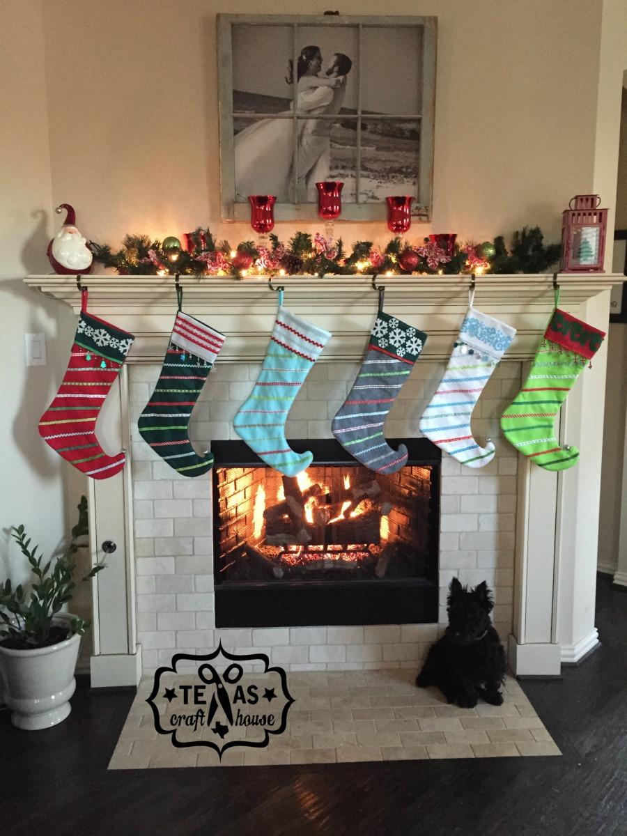 How To Make Your Own Felt Christmas Stockings Texas