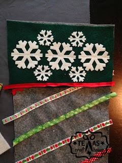 {Texas Craft House} Learn How To Make Your Own Christmas Stalkings With This Easy DIY