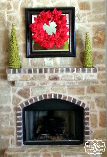 {Texas Craft House} Burlap Christmas Tree Craft