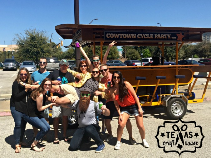 {Texas Craft House} T's Golden Birthday Cowtown Cycle